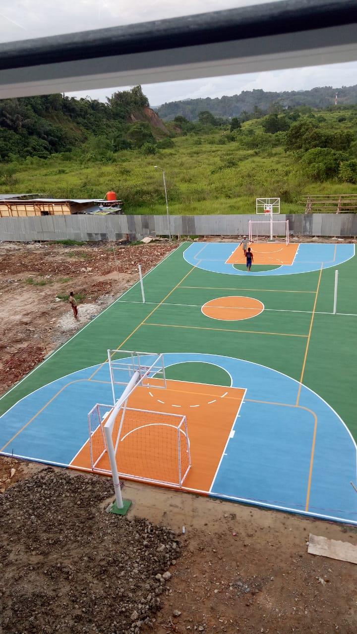 kontraktor lapangan basket 1