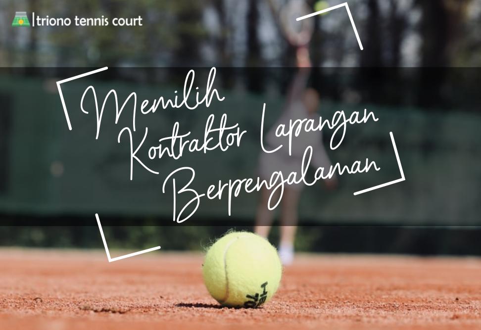 Kontraktor Lapangan Olahraga Tenis