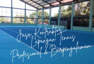 Jasa Kontraktor Lapangan Tennis
