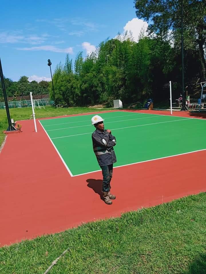 kontraktor lapangan badminton profesional (2)